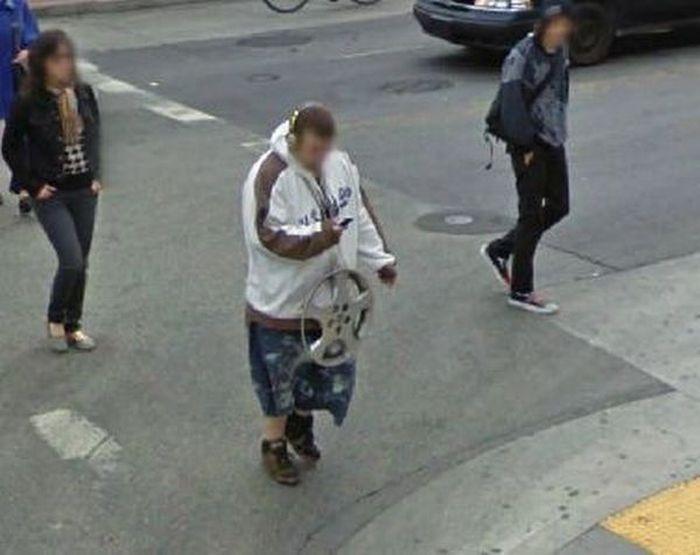 Google Street View. Часть 5. (38 фото)