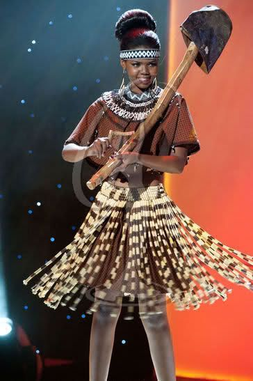 Мисс Вселенная - национальные костюмы (88 фотографий), photo:9