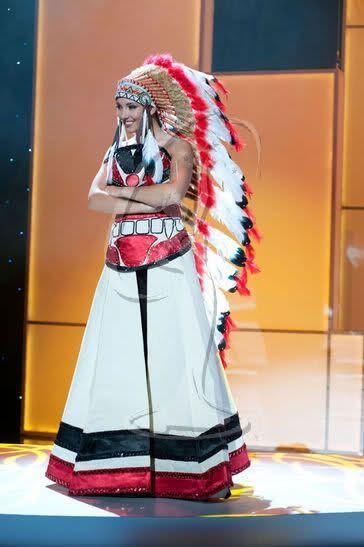 Мисс Вселенная - национальные костюмы (88 фотографий), photo:12
