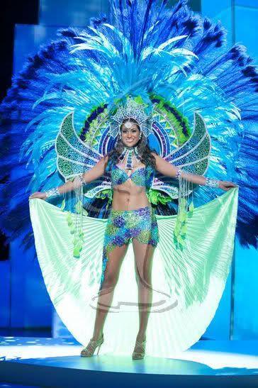 Мисс Вселенная - национальные костюмы (88 фотографий), photo:13