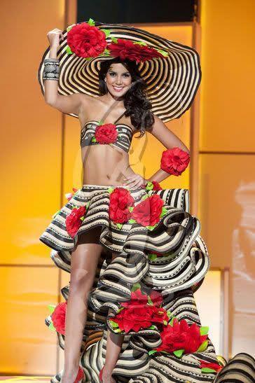Мисс Вселенная - национальные костюмы (88 фотографий), photo:16