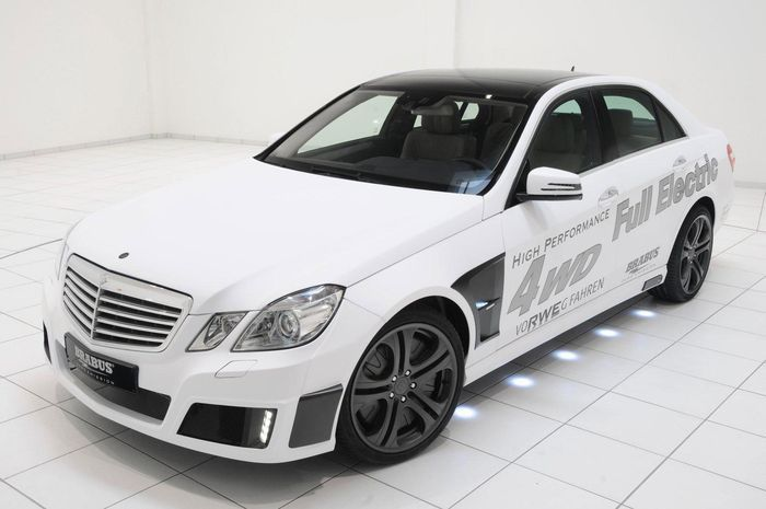 Mercedes E-Class High Performance 4WD Full Electric от Brabus (25 фото)