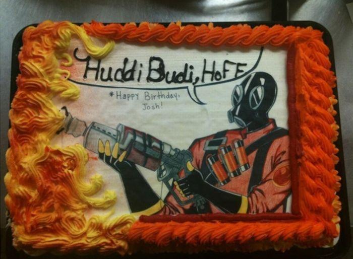 Забавный торт (5 фото)
