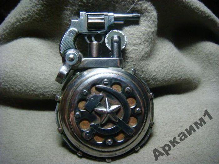 Старинные зажигалки военных (19 фото)