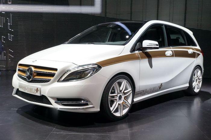 B-Class E-Cell - новинка от Mercedes-Benz (30 фото)