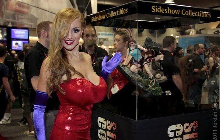 Сексуальная Джессика Рэббит (20 фото)