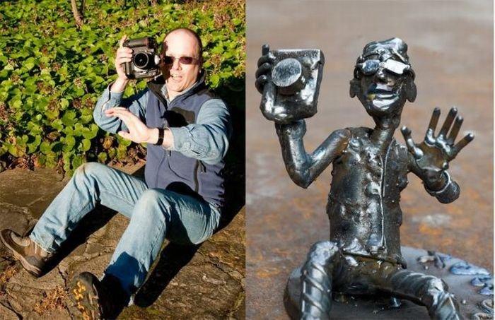 Фантазия скульптора (14 фото)