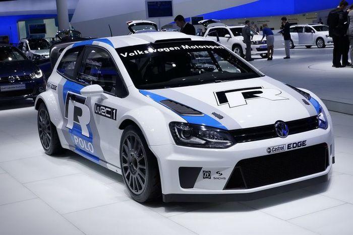 Volkswagen Polo R WRC - претендент на победу в ралли (9 фото)