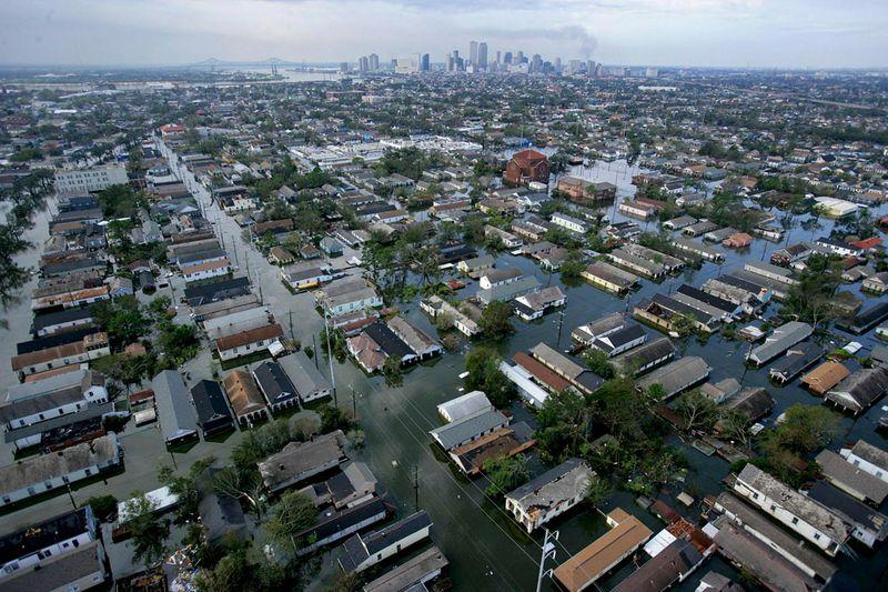 1765 Ураган Катрина   пять лет спустя
