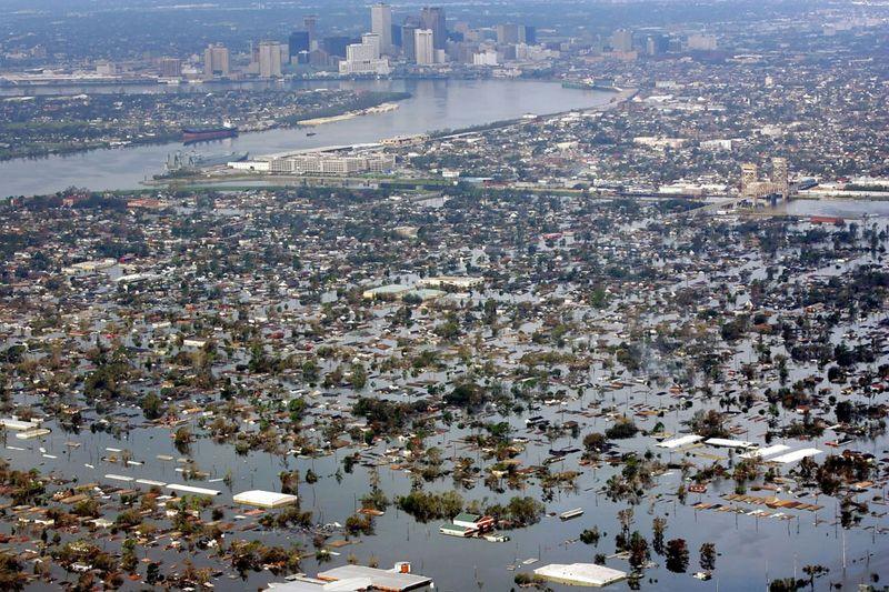 1857 Ураган Катрина   пять лет спустя