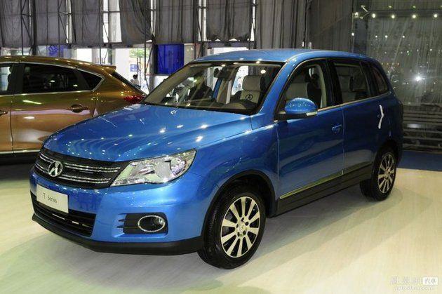 Как выглядят китайские Audi A4, Volkswagen Tiguan и Infiniti EX (7 фото)