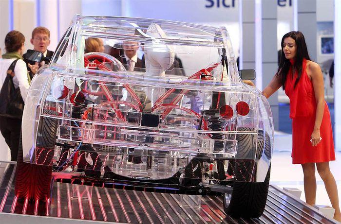 Автосалон во Франкфурте презентовал автомобили будущего (15 фото)