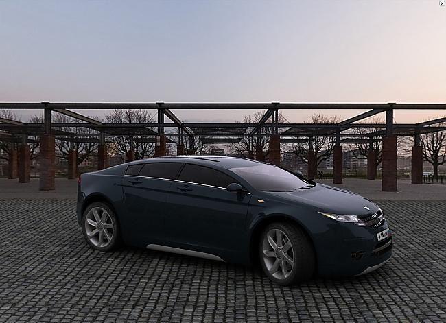 Отечественные концепты Волга ГАЗ 5000 GL и Лада Evolition (5 фото)