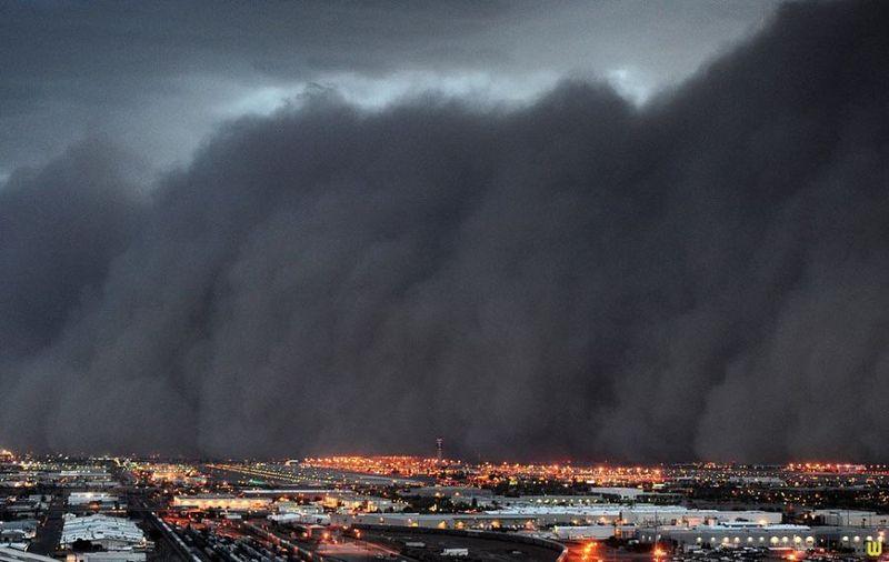 Пыльные бури в фотографиях (11 фото)
