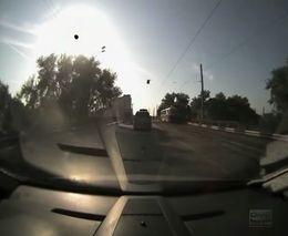 Авария с участием трамвая