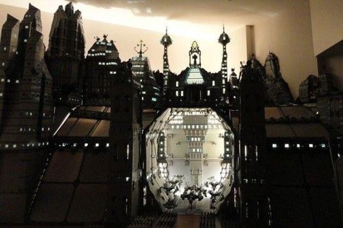 Город из Лего (6 фото)