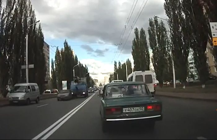 Российские авто аварии (видео)