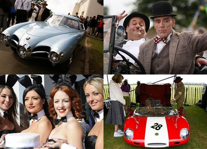 Британский ретро-фестиваль Goodwood Revival 2011 (52 фото)