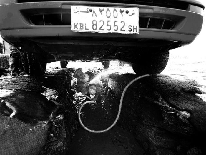 Кабул. Автомойка (20 фото)