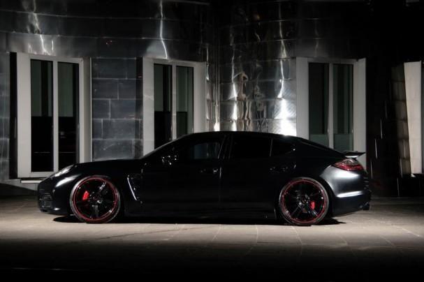 Porsche Panamera Black Edition (10 фото)