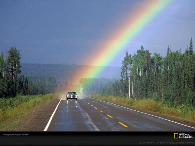Конец радуги (3 фото)