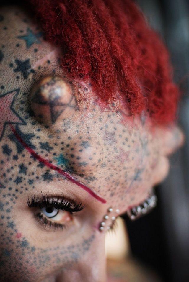 Maria Jose Cristerna – женщина-вампир (24 фото)