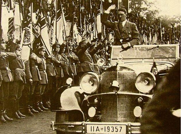 Cпустя 80 лет всплыла квитанция о штрафе, выписанная Гитлеру