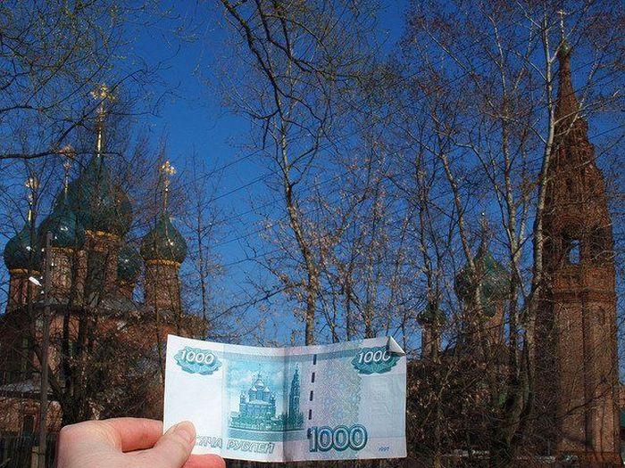 Фотографии, изображенные на денежных купюрах (19 фото)