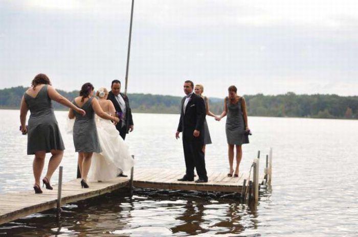 Неудачный свадебный день (13 фото)