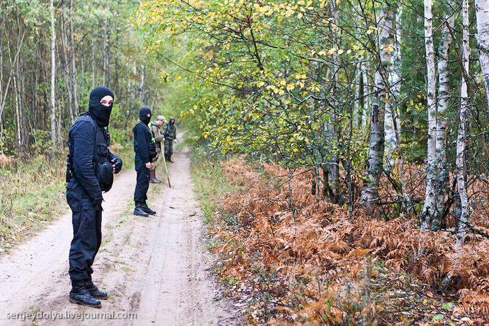 Как ищут людей в лесу (35 фото + текст)