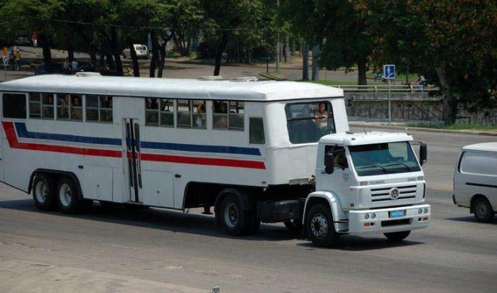 Общественный транспорт на кубе (11 фото)