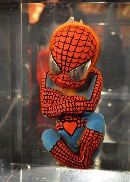 Зародыши супергероев (6 фото)