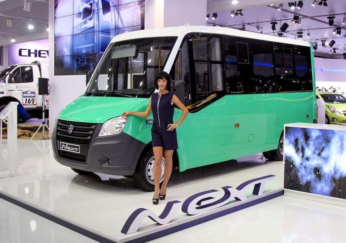 Автозавод ГАЗ представил революционную Газель Next (21 фото)