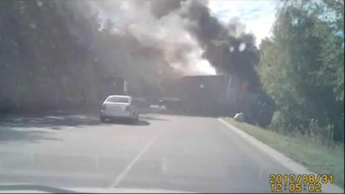 Авария дня часть 715 (фото+видео)