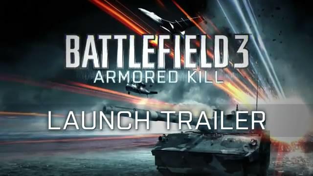 Релизный трейлер Battlefield 3: Armored Kill (видео)