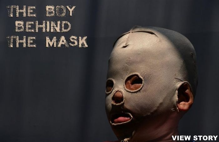 Человек-маска (16 фото)