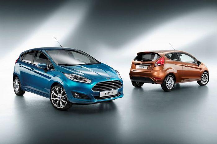 Компания Ford показала обновленную версию Fiesta (13 фото)