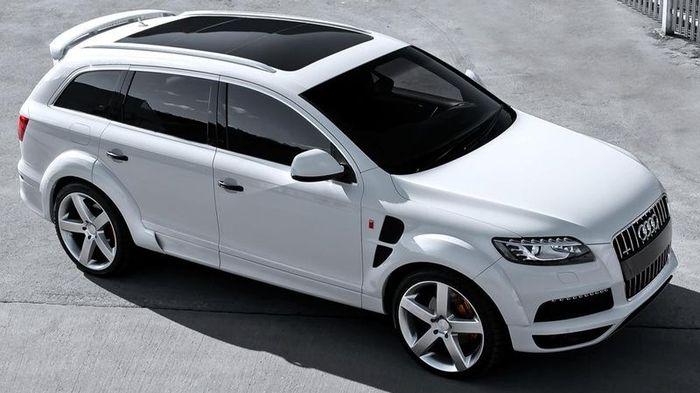 Audi Q7 получил новый обвес от Kahn Design (13 фото)