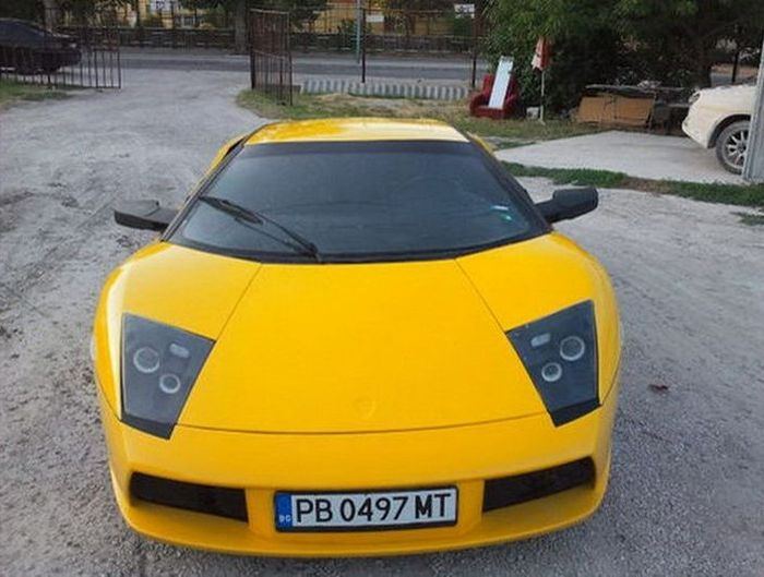 Lamborghini Murcielago из японской Toyota MR2 (7 фото)
