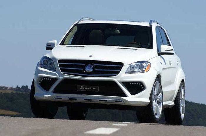 Mercedes-Benz ML в обвесе от Hofele Design (40 фото)