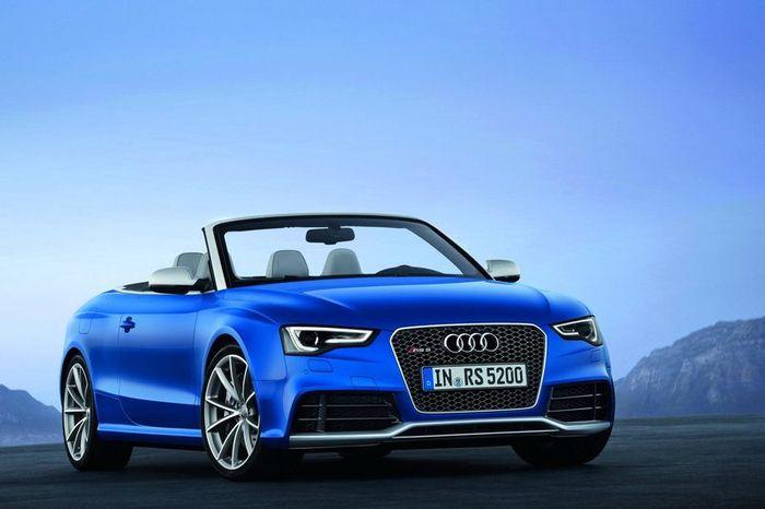 Компания Audi провела презентацию заряженной модели RS5 (15 фото+видео)
