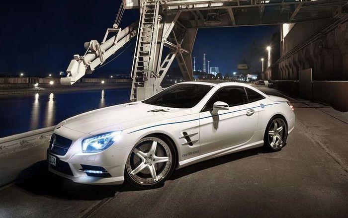 Mercedes-Benz SL получил стайлинг-пакет от Graf Weckerle (7 фото)