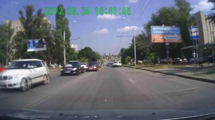 Авария дня часть 720 (фото+видео)