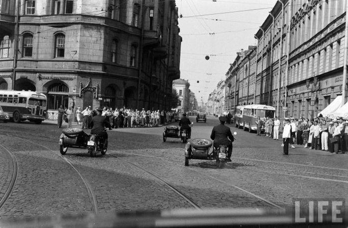 Ричард Никсон в Ленинграде (30 фото)