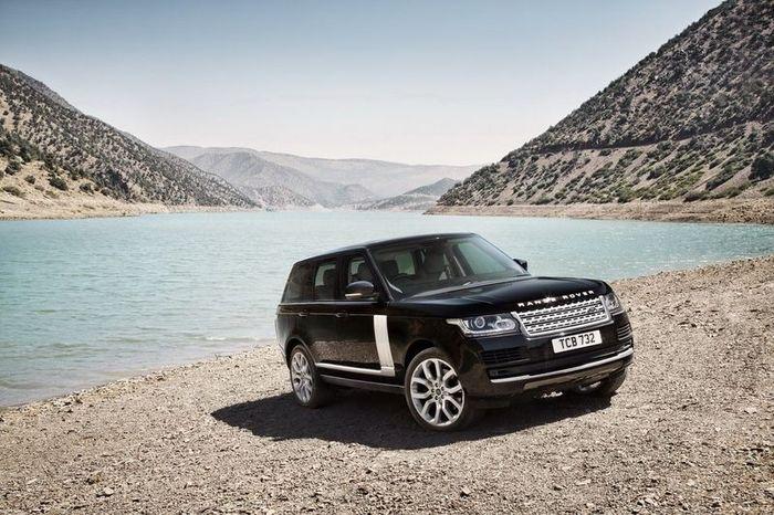 Названы российские цены на новый Range Rover 2013 (142 фото+4 видео)