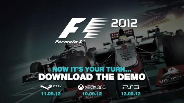 Трейлер и скриншоты демо-версии F1 2012 (6 скринов + видео)