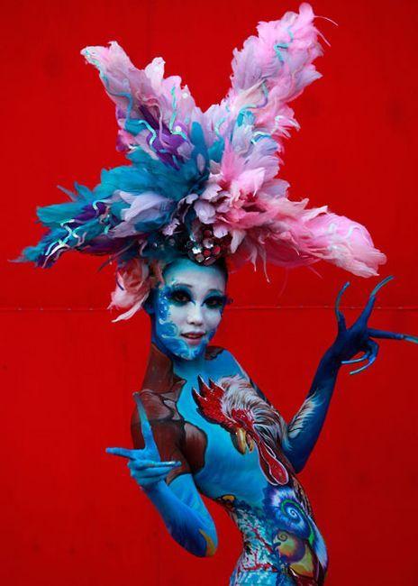 Международный фестиваль боди-арта в Южной Корее (40 фото)
