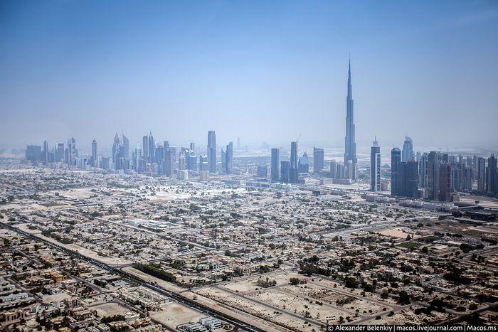 Дубаи с высоты птичьего полета (20 фото)