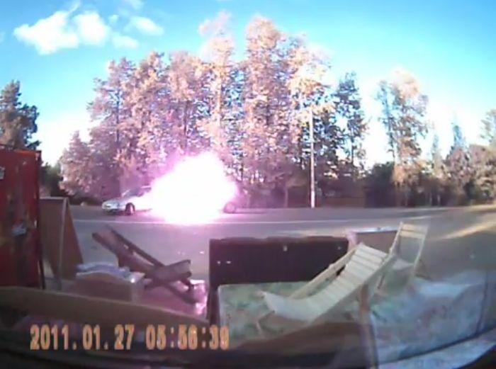 Авария дня часть 722 (фото+видео)