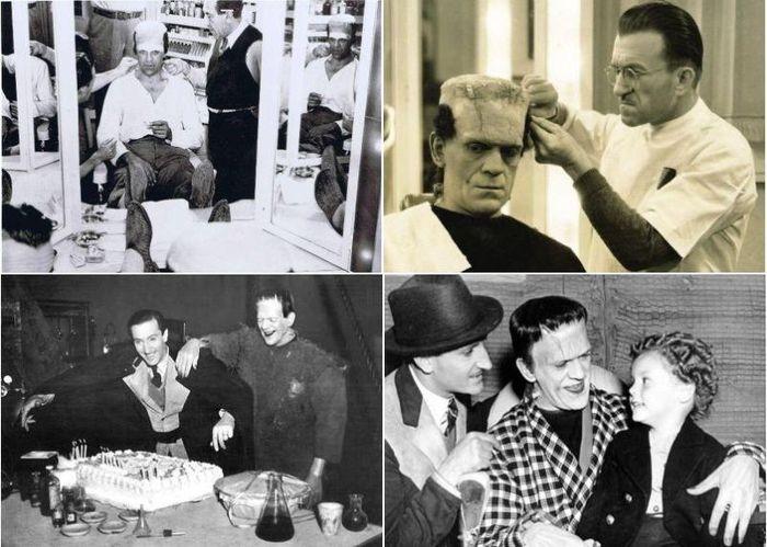 За кулисами классических фильмов о Франкенштейне (34 фото)